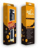 AMP Powers手頃な自撮りスティック、PerfectDay折りたたみ式延長可能Bluetooth自撮りスティック内蔵リモートシャッター付きfor iPhone 6s、6、6?Plus、5、5s、5?C???ブラック