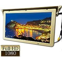 22インチ大型フリップダウンモニター 24V専用 デジタル液晶パネル フルハイビジョン リモコン付[F2201YH]