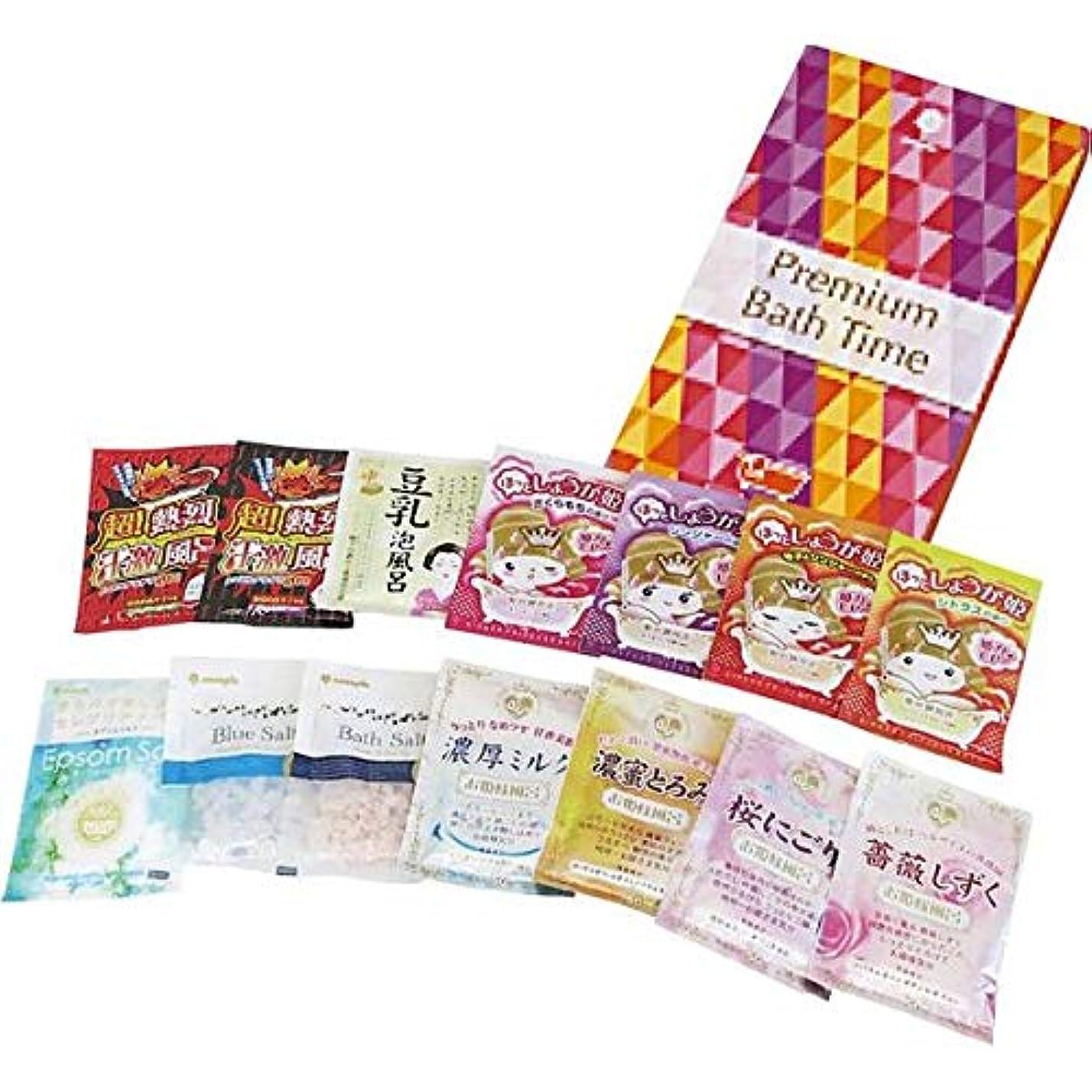 あさり豆汚染する日本製 made in japan プレミアムバスタイム 14包入り(化粧箱入) K-2528