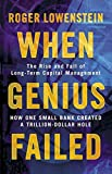 When Genius Failed: The Rise and Fall of Long Term Capital Management 画像