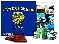 """DA CHOCOLATE キャンディ スーベニア """"オレゴン"""" OREGON チョコレートセット 5×5一箱 (Flag)"""