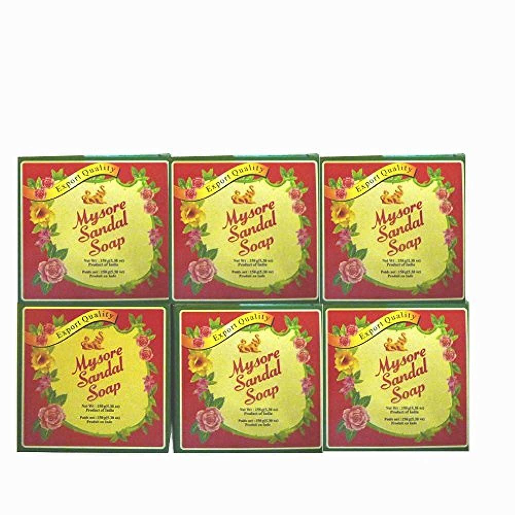 トロリーリファイン谷高純度白檀油配合 マイソール サンダルソープ 150g 6個セット