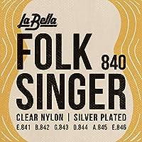 La Bella(ラベラ) クラシックギター弦 840 Folksinger Ball-Ends