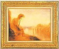 複製絵画 風景・タンバリンをもつ女 ターナー作 P10号