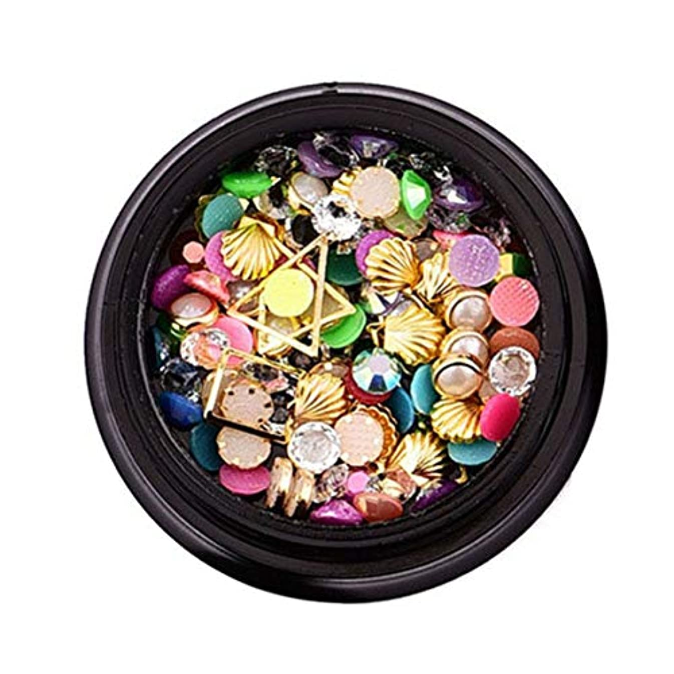 褐色スタウトミネラルIntercorey美しいネイルアート輝くラインストーンファッションネイルアートデコレーションネイルポリッシュアートツールプロフェッショナルマニキュアアクセサリー