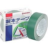 ニチバン 製本テープ 巾25mm×長10m BK-25 緑 1箱(10個)