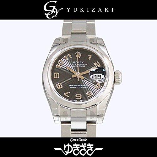 ロレックス デイトジャスト 179160 ブラックコンセントリック レディース 腕時計 [並行輸入品]