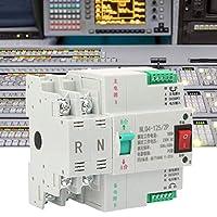転送スイッチデュアル、AC 230V 2P 63/80/100Aデュアル電源自動転送トグルスイッチ(100A)