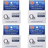 【×4個】 QB 薬用デオドラントクリーム 30g 【国内正規品】