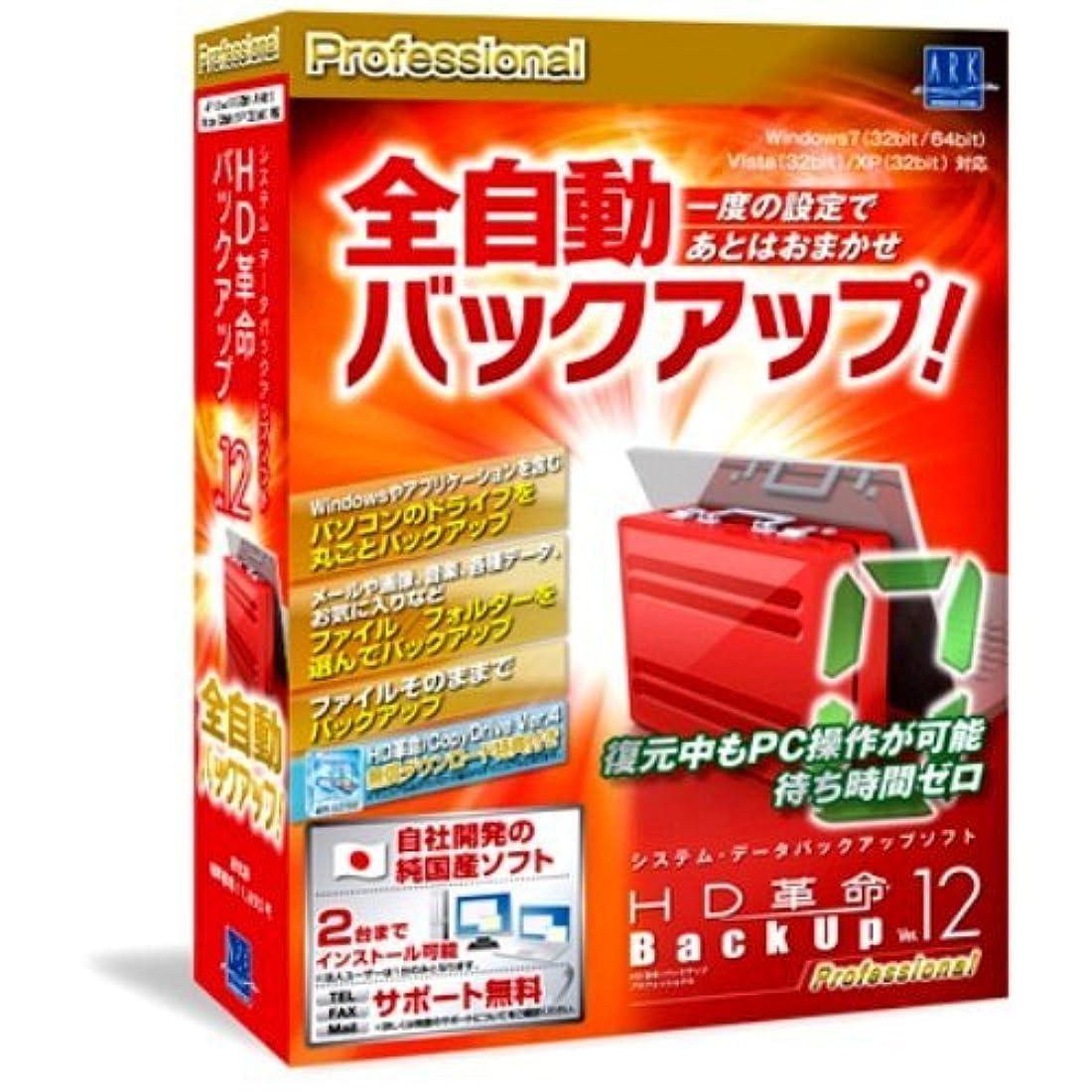 インサートレトルト適応HD革命/BackUp Ver.12 Professional 通常版