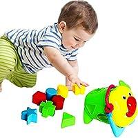 おもちゃCubby赤ちゃん形状ソーターand Blocks with動物デザイン
