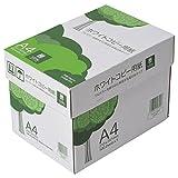 コピー用紙 A4 ホワイトコピー用紙 高白色 紙厚0.09mm 2500枚(500×5) WC901PET