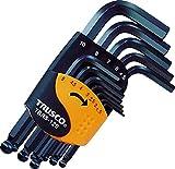 TRUSCO(トラスコ) ボールポイント六角棒レンチセット ショートタイプ 12本組 TBRS12S