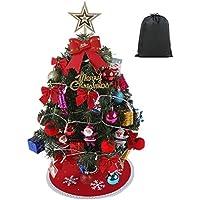 クリスマスツリーセット ミニ オーナメント セット 12種類大集合 (60cm)