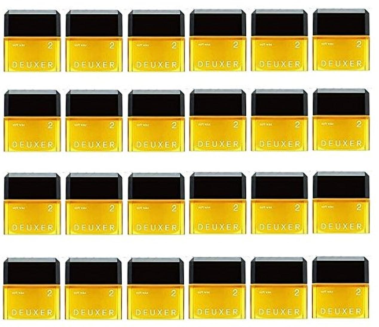 ただセッティング作物【24個セット】ナンバースリー デューサー ソフトワックス 2 80g