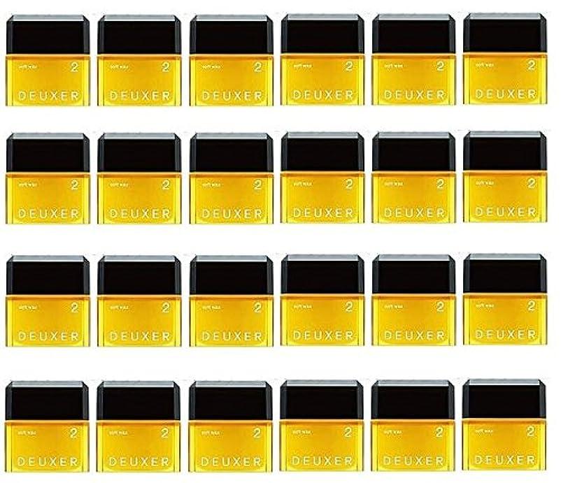 ショップ盗難レバー【24個セット】ナンバースリー デューサー ソフトワックス 2 80g