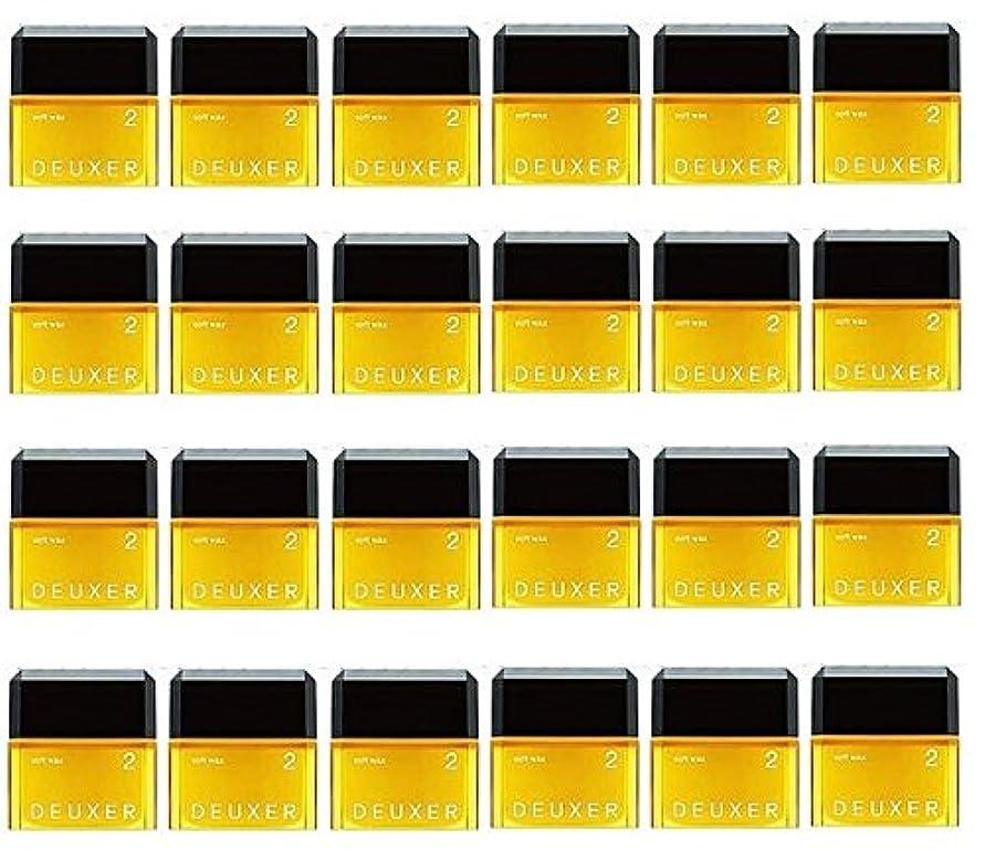 社会治世天窓【24個セット】ナンバースリー デューサー ソフトワックス 2 80g