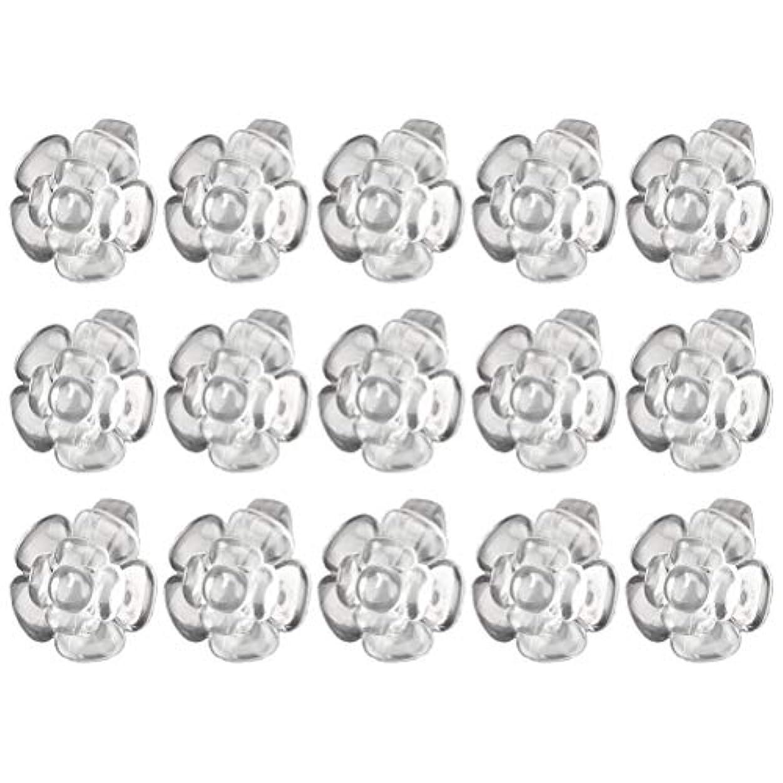 メキシコハイランド振り子Lurrose 50ピースネイルカラーディスプレイフラワーシェイプリングネイルアート練習ディスプレイラックネイルポリッシュデコレーションネイルアートツール