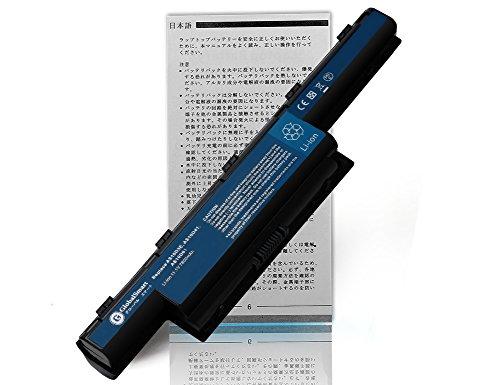 【超大容量】 ACER エイサー eMachines D528 D729Z E642 E732Z D640 D730 E644 E732ZG D640G D732 E644G MS2305 D642 D732Z 用 【日本セル・9セル】 GlobalSmartロゴ付 高性能 ノートパソコン 互換 バッテリー 充電池