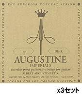 AUGUSTINE/オーガスチン IMPERIAL/BLACK×3セット レギュラー