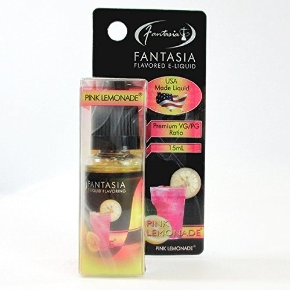 助手許す気味の悪い極上リキッド Fantasia ピンクレモネード Pink Lemonade 15ml 電子タバコ 電子たばこ 詰め替え ベイプ