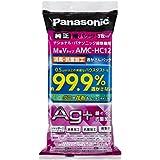 パナソニック 純正品交換用紙パック消臭・抗菌加工「逃がさんパック」(M型Vタイプ) 3枚入り AMC-HC12