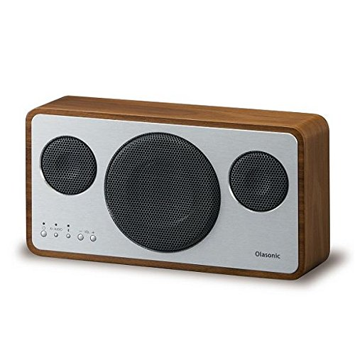 Olasonic Bluetoothスピーカー ウォルナット IA-BT7-WN