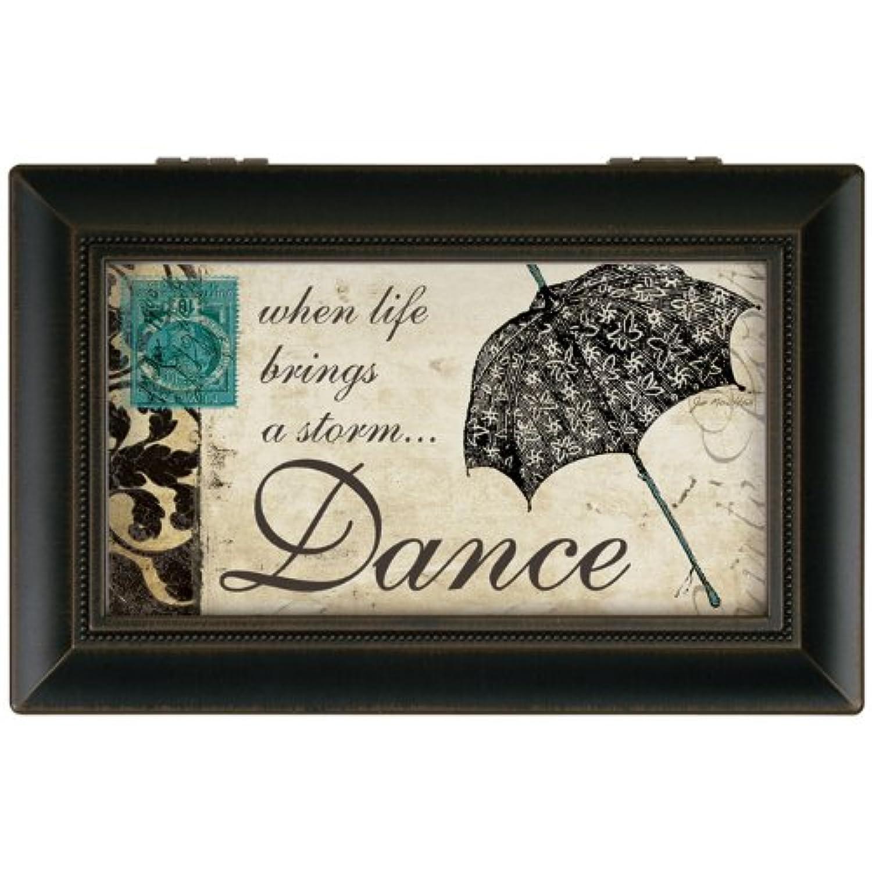 Carson Home Accents 18062 Dance Jo Moulton Music Box, 15cm by 10cm by 6.4cm