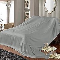 家具カバー 保護カバー, カバークロスカバー 防塵 防水/素材ファブリック 機器、防塵布、装飾に適しています,Gray,2.4*5m