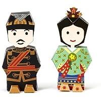 Korea Character Papertoy - Emperor Gojong & Deokhye Ongju