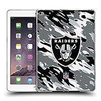 オフィシャル NFL カモフラージュ オークランド・レイダース ロゴ iPad Air 2 (2014) 専用ソフトジェルケース