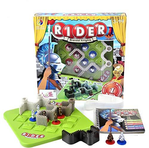 [リトルスワロー] 脳トレ 知育 パズル ファミリー ボード ゲーム 大人から子供まで 家族で楽しめる (ナイト)
