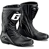 GAERNE(ガエルネ) レーシングブーツ G-RW / ジーアールダブル ブラック 25.5cm 【総輸入元:ジャペックス】