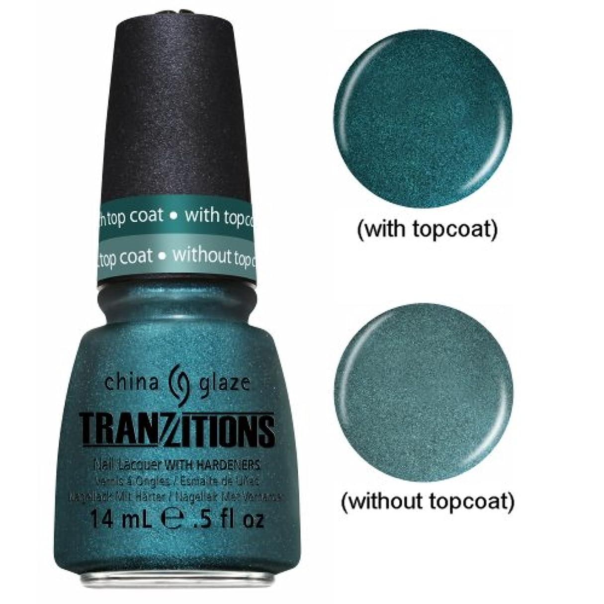 フラップ電気陽性是正する(3 Pack) CHINA GLAZE Nail Lacquer - Tranzitions - Altered Reality (並行輸入品)