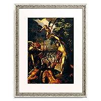 ハンス・フォン・アーヘン Aachen, Hans von 「Martyrdom of St. Sebastian. After 1588 (Replik nach Hans von Aachen)」 額装アート作品