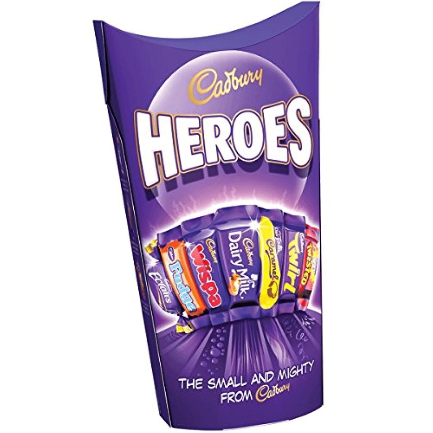 振幅学士第二に(Cadbury (キャドバリー)) 英雄の185グラム (x4) - Cadbury Heroes 185g (Pack of 4) [並行輸入品]
