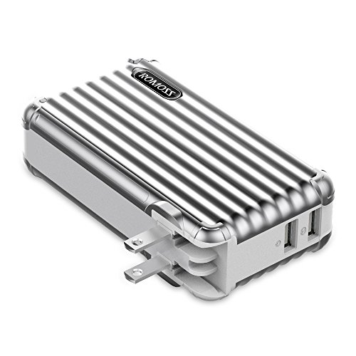 モバイルバッテリー搭載 AC急速充電器 10000mAh ROMOSS AC...