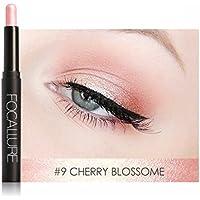 FOCALLURE Glitter Eye Liner Pen Eyeshadow Waterproof Makeup Eye Shadow Pencil Bs #9
