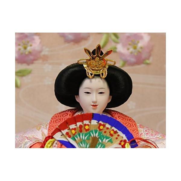 吉徳 雛人形 親王収納飾り 間口58×奥行38...の紹介画像7