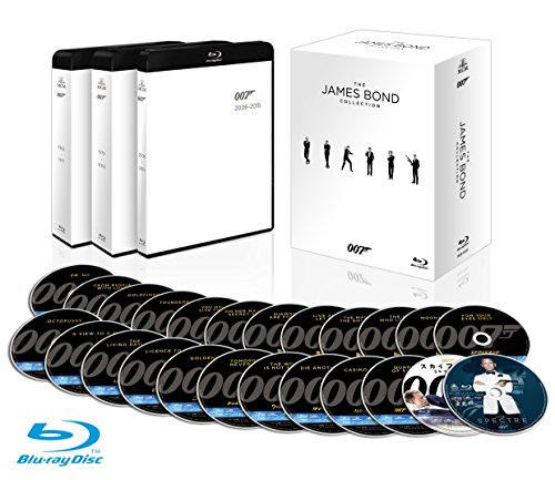007 ブルーレイコレクション (24枚組) [Blu-ray]