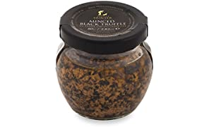Minced Black Truffle Large (2.82 Oz) by TruffleHunter - Preserved in Extra Virgin Olive Oil - Vegan, Vegetarian, Kosher and Gluten Free - No MSG, Non-GMO