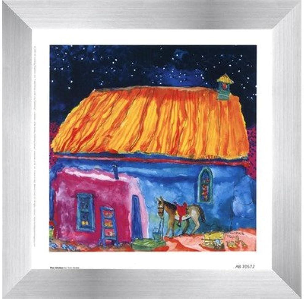 危機あいまいさ販売員The Visitor by Tom Noble – 7 x 7インチ – アートプリントポスター LE_66251-F9935-7x7