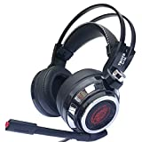 2017 headphone(warranty included) CCsky Gaming Headset for PS4 Playstation 4 PC Xbox One Laptop Mac