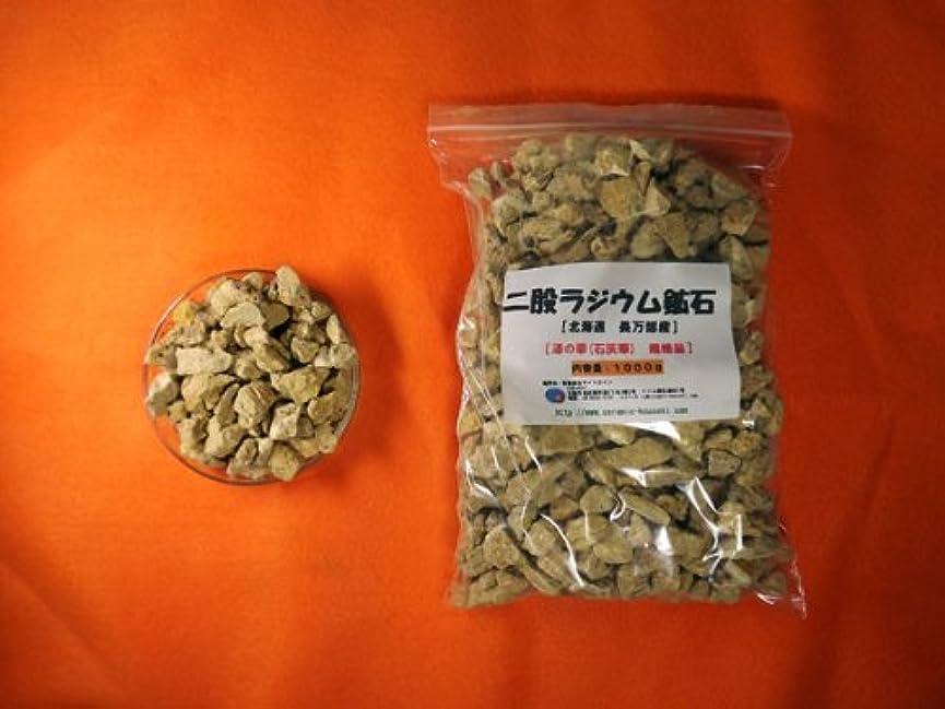 まさにくしゃみ閃光二股ラジウム鉱石 湯の華 [北海道 長万部産]1000g