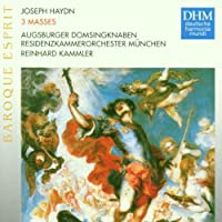 Haydn: 3 Masses by TELEMANN GEORG PHILIPP / BACH (1997-10-06)