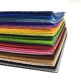 【選べるカットサイズ】 カット フェルト 生地 素材 40色 セット 手芸 ハンドメイド (30×30cm)