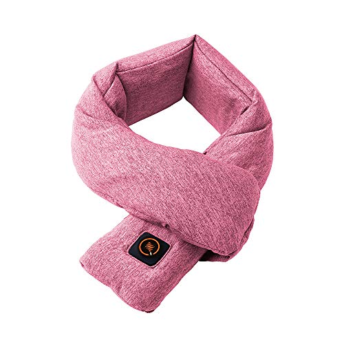 ドウシシャ ウェアラブルヒーター ネック 手洗いOK ピンク...
