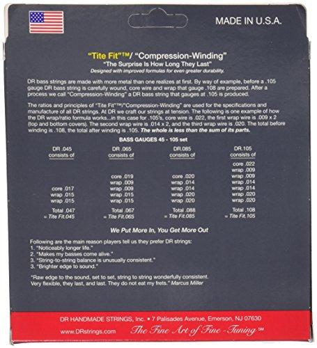 DR ベース弦 LO-RIDER ステンレス .045-.105 MH-45
