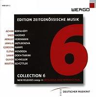 WERGO 現代音楽コレクション 6 ~ カタログ 2009 - 2011 (Edition Zeitgenossische Musik / Collection 6) [輸入盤]