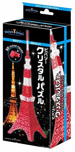 48ピース クリスタルパズル 東京タワー